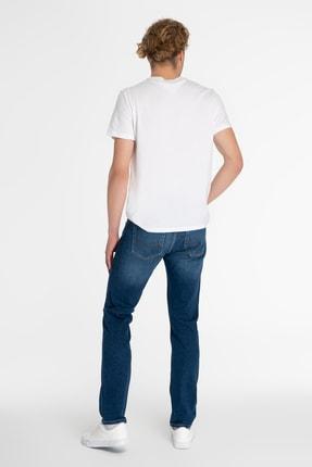 CROSS JEANS Matthew Orta Mavi Slim Straight Normal Bel Jean Pantolon 1