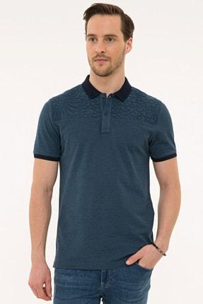Pierre Cardin Lacıvert Erkek T-Shirt G021GL011.000.1074828 0