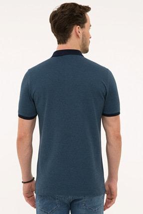 Pierre Cardin Lacıvert Erkek T-Shirt G021GL011.000.1074828 2