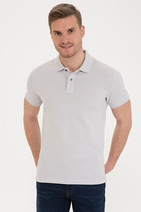 Picture of Acık Grı Erkek T-Shirt G021GL011.000.1201031