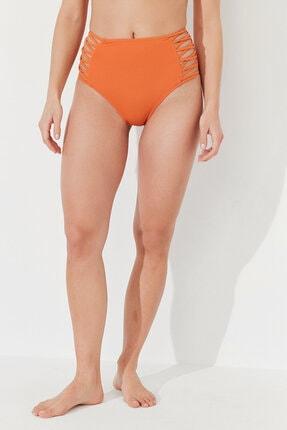 Penti Kadın Turuncu Basic High Fashion Bikini Altı 0