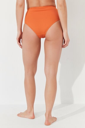 Penti Kadın Turuncu Basic High Fashion Bikini Altı 2