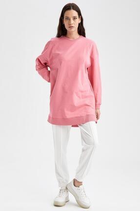 Defacto Modest Oversize Fit Sweat Tunik 1