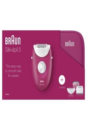 Braun Silk-épil 3 3415 GS Epilatör + Çanta 3