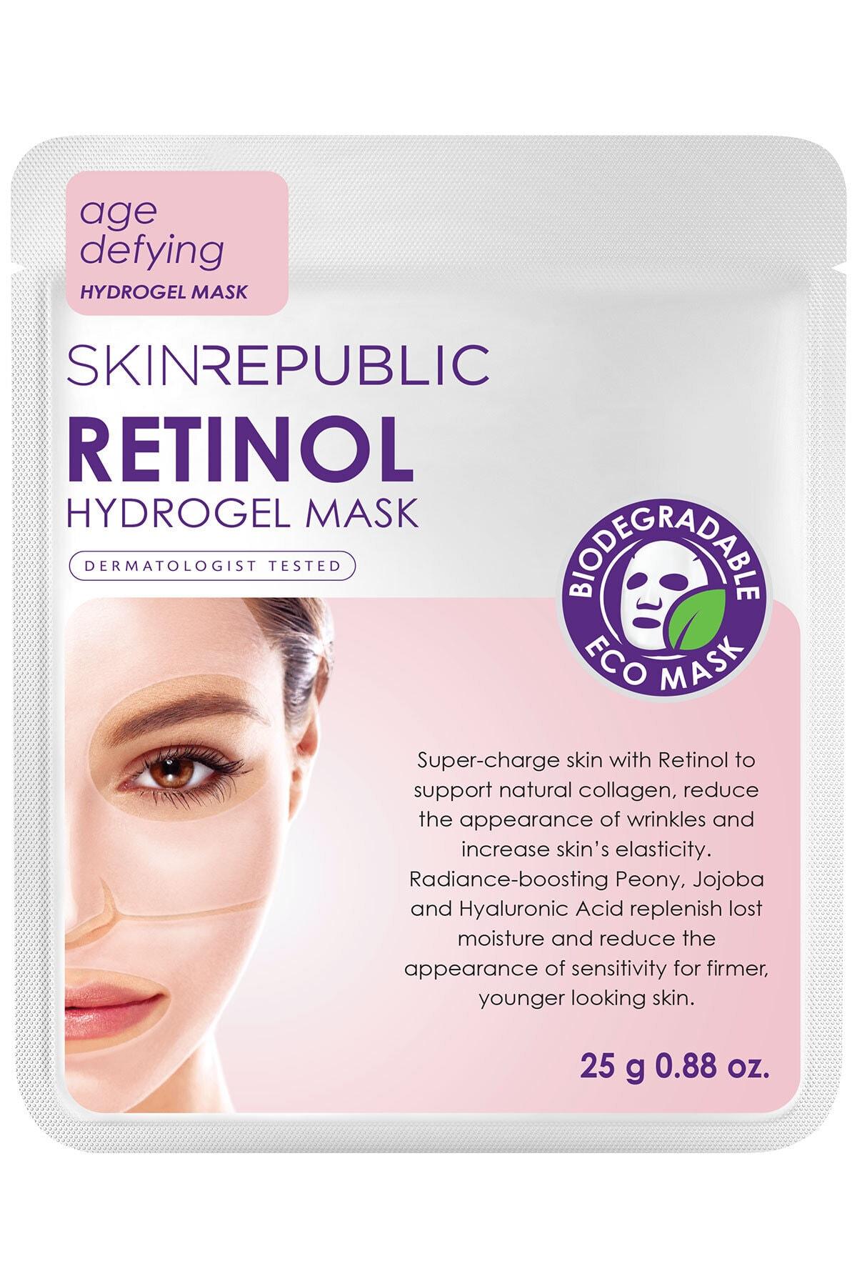 Retinol Hidrojel Yüz Maskesi 25 gr