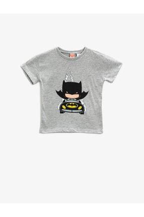Picture of Batman Baskili Pamuklu Tisört