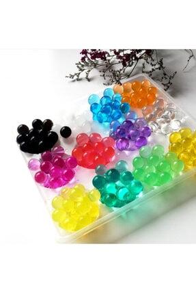 Aksh 1200 Adet 9-11 Mm Su Maymunu Kristal Boncuk Renkli Toplar Topraksız Yetiştirme 1
