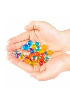 Aksh 1200 Adet 9-11 Mm Su Maymunu Kristal Boncuk Renkli Toplar Topraksız Yetiştirme 2
