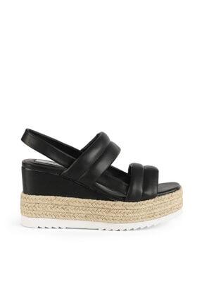 İpekyol Hasır Şeritli Topuklu Sandalet 0