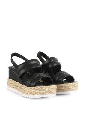 İpekyol Hasır Şeritli Topuklu Sandalet 3