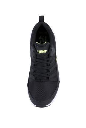 Jump 24865 Siyah - Neon Yeşil Erkek Spor Ayakkabı 2