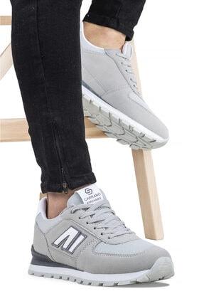 Ayakkabix Erkek Gri Spor Ayakkabı 0