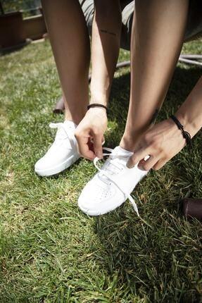 Ayakkabı Modası Kadın Beyaz Spor Ayakkabı 3