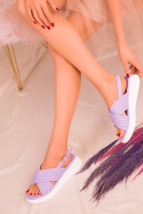 Soho Exclusive Lila Kadın Sandalet 16208 1