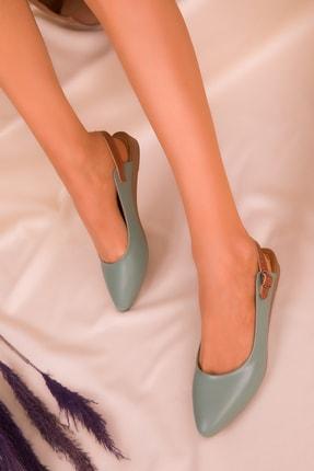 Soho Exclusive Yeşil Kadın Sandalet 16216 1