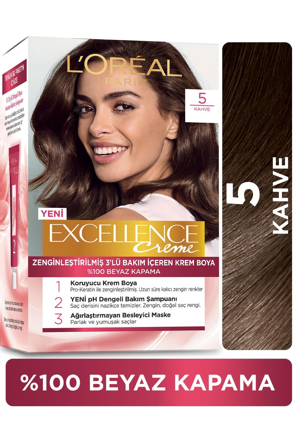Excellence Creme Saç Boyası - 5 Kahve