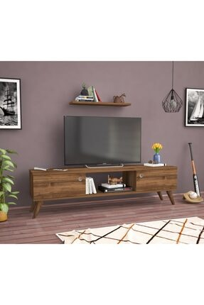 Ankara Mobilya Bena Mobilya Emre Haliç Ceviz 140 Cm Tv Sehpası 1