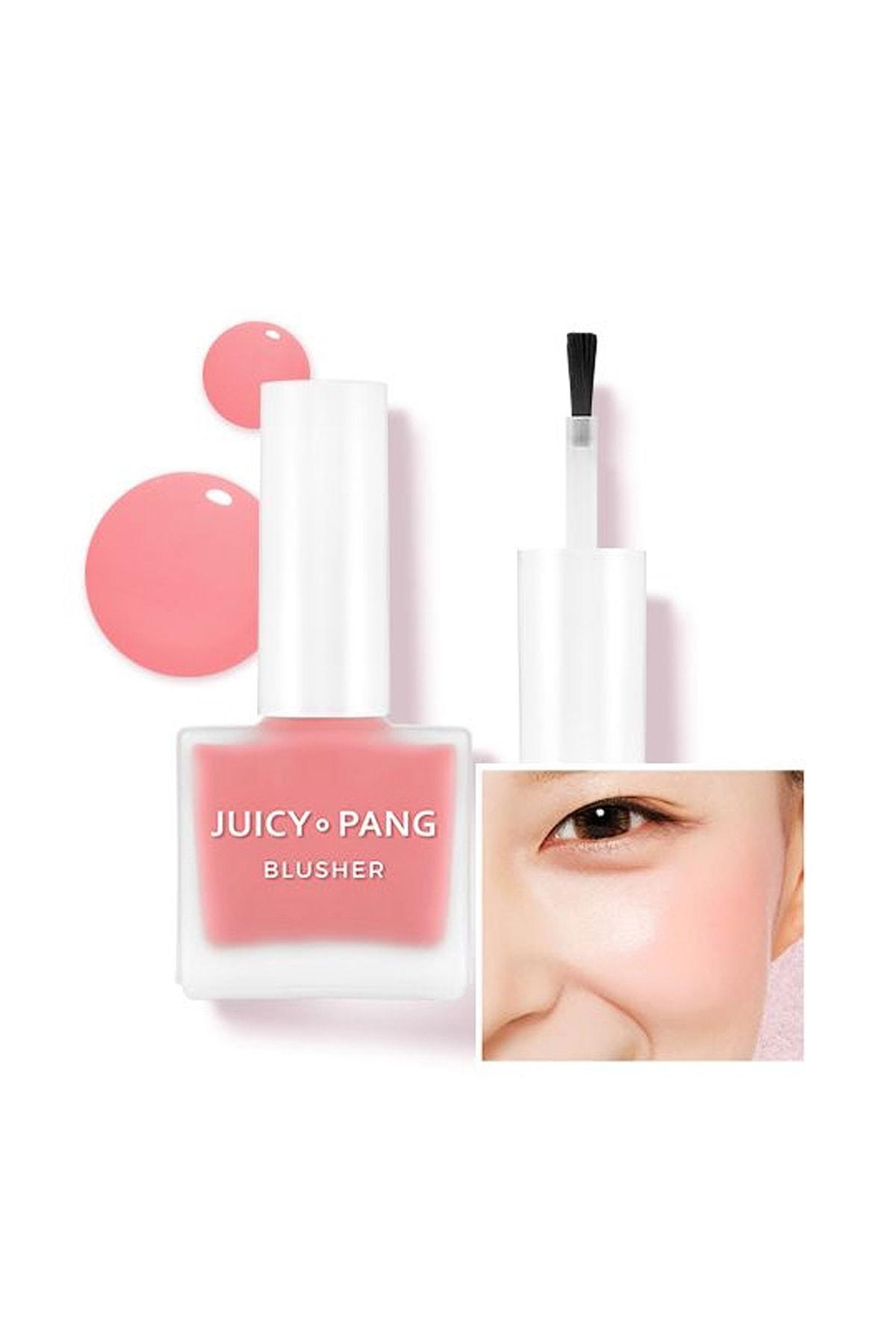 Missha Doğal Görünüm Sunan Nemlendirici Likit Allık 9g. APIEU Juicy-Pang Water Blusher (PK01) 0