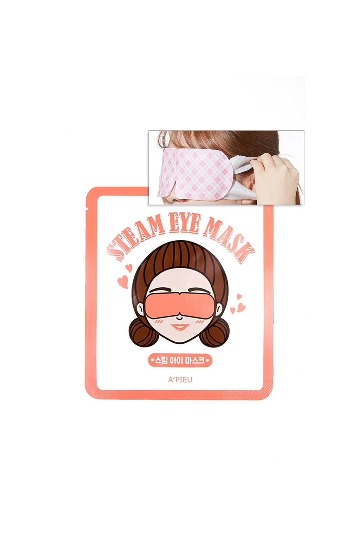 Isıtma Etkili Göz Bandı APIEU Steam Eye Mask