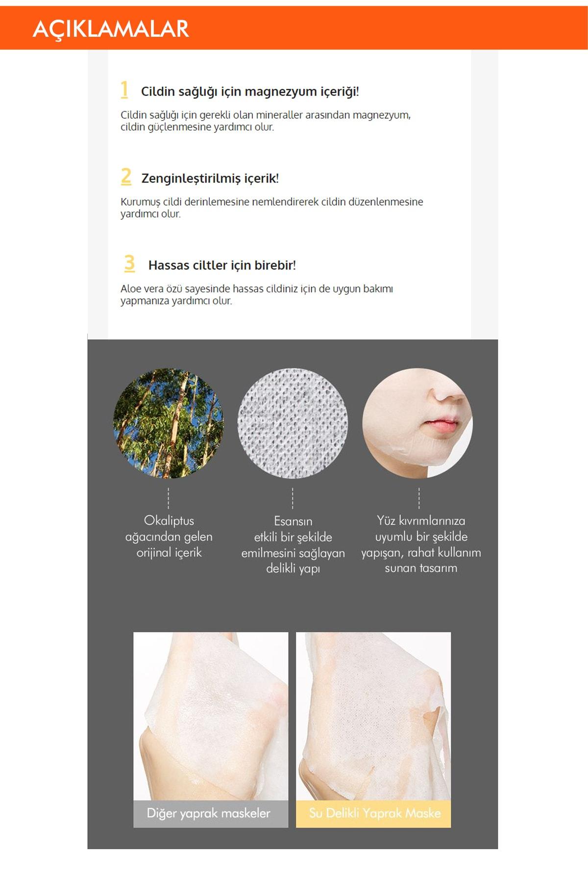 Missha Hassas Ciltler İçin Besleyici Magnezyum Özel Bakım Maske Cicative Magnesium Sheet Mask 1