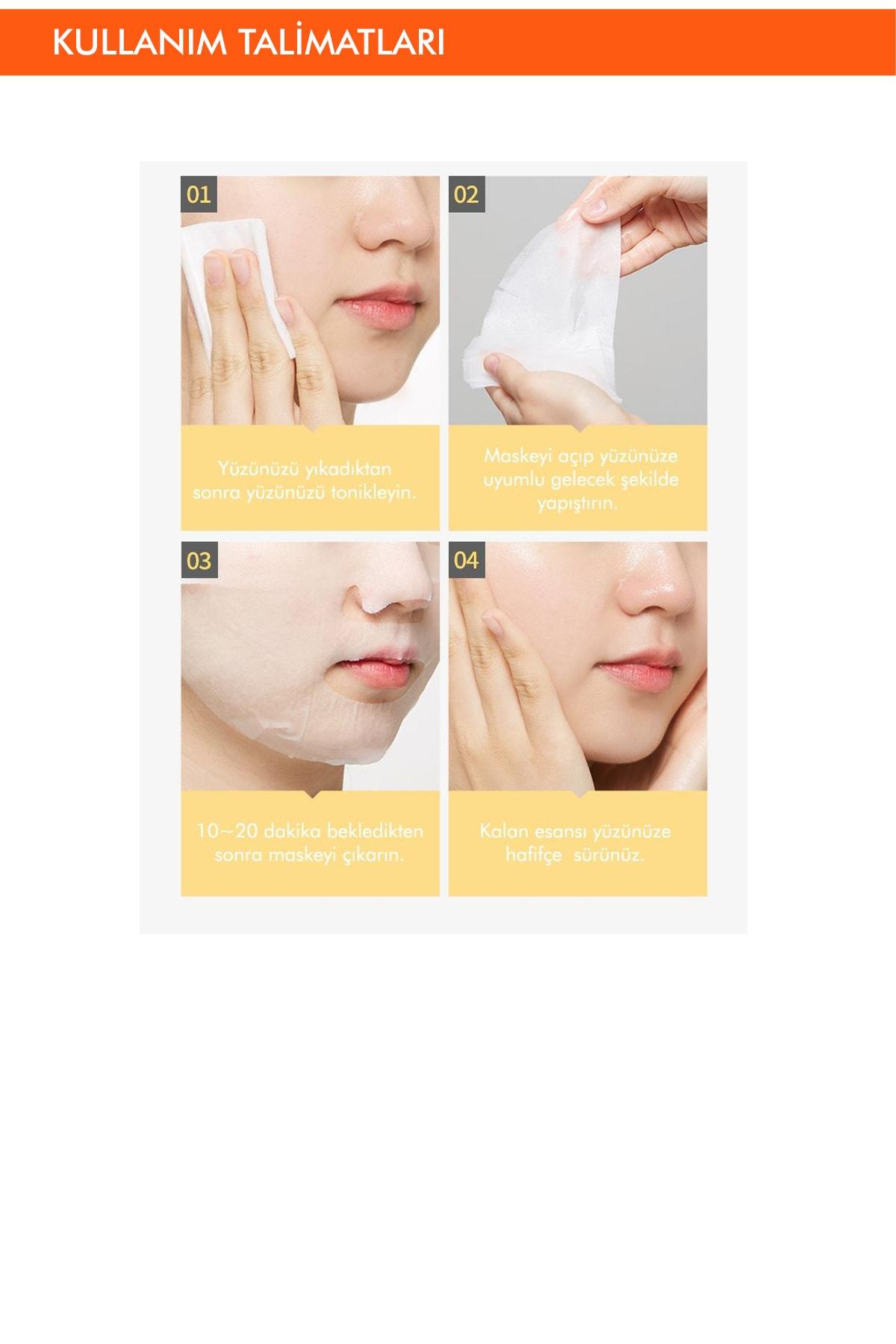 Missha Hassas Ciltler İçin Besleyici Magnezyum Özel Bakım Maske Cicative Magnesium Sheet Mask 3