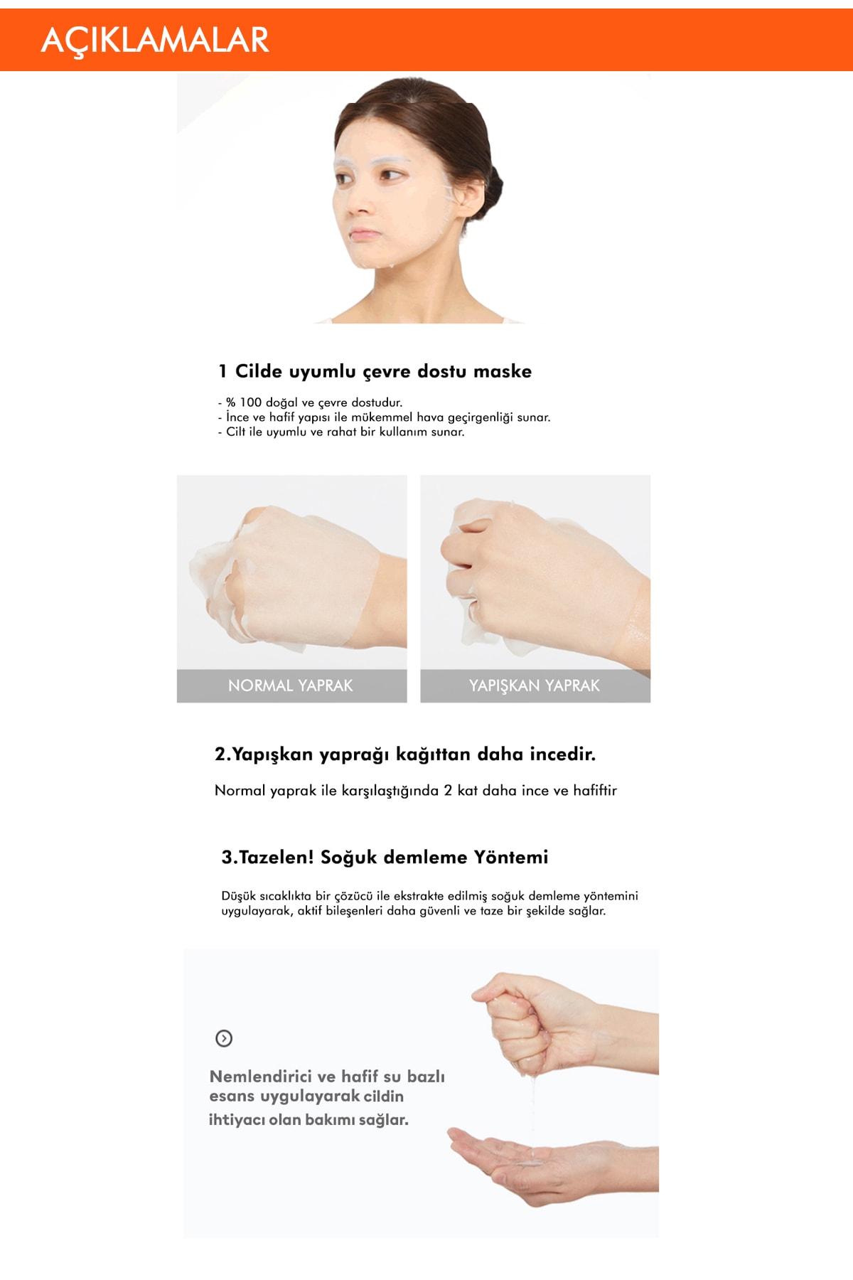 Missha Shea Yağı Besleyici ve Yoğun Nemlendirici Yaprak Maske (1ad) Airy Fit Sheet Mask Shea Butter 2