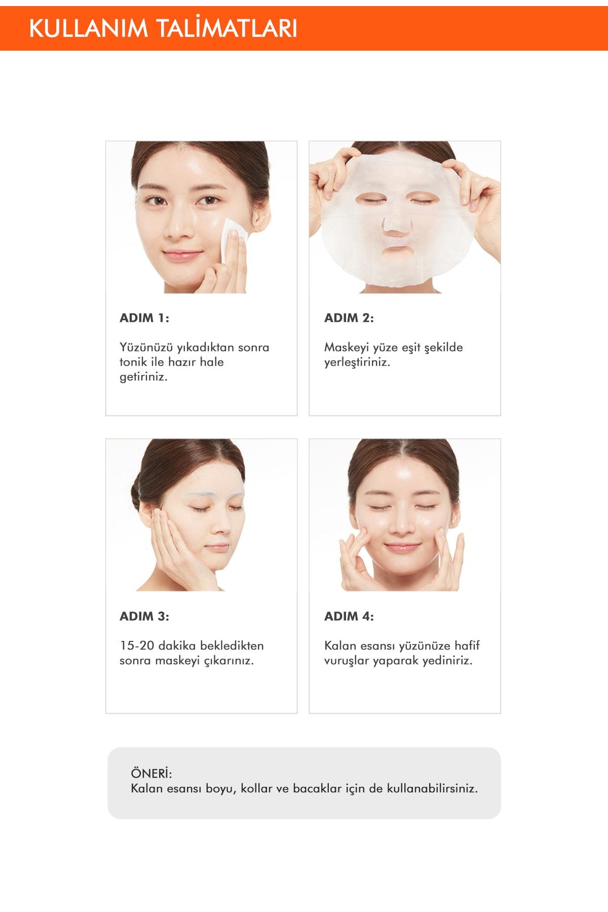 Missha Shea Yağı Besleyici ve Yoğun Nemlendirici Yaprak Maske (1ad) Airy Fit Sheet Mask Shea Butter 4