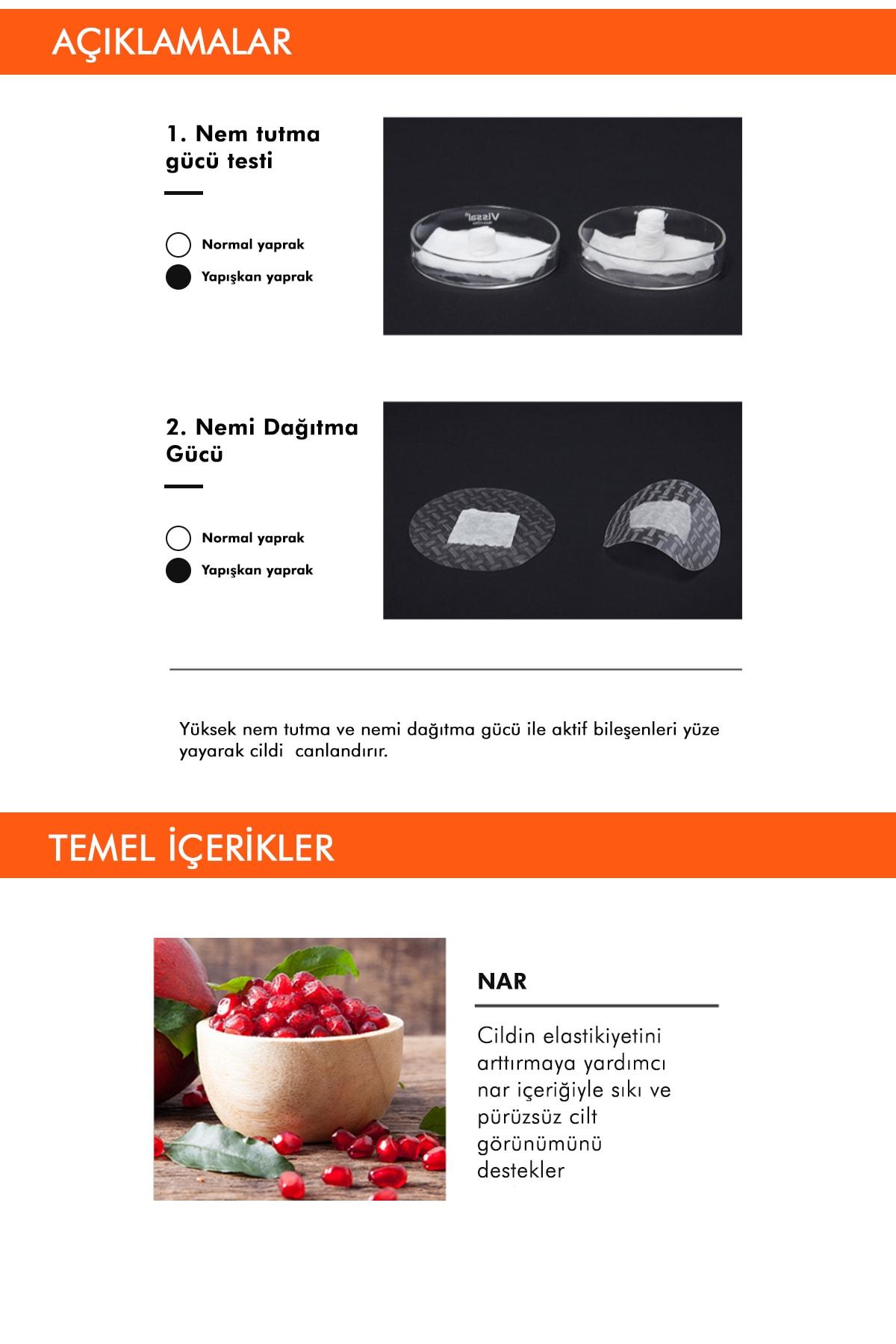 Missha Yaşlanma Karşıtı Nar Özlü Sıkılaştırıcı Yaprak Maske (1ad) Airy Fit Sheet Mask Pomegranate 3