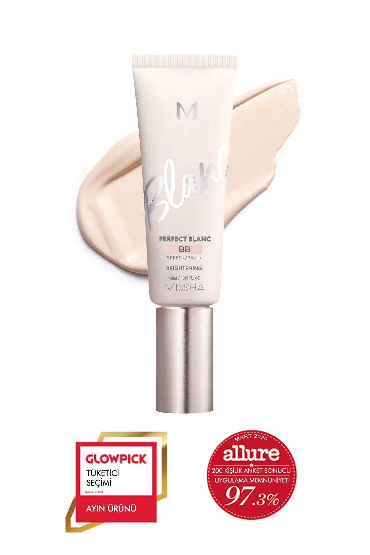 Missha Aydınlatıcı&Ton Eşitleyici BB Krem 40ml SPF50+MISSHA M Perfect Blanc BB (Rosy / No.21) 0