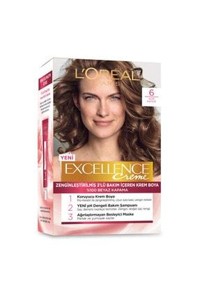 L'Oreal Paris Excellence Creme Saç Boyası - 6 Açık Kahve 1