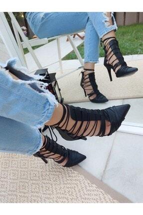 Bağcıklı Topuklu Ayakkabı 2829765