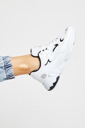 Tonny Black Unısex Beyaz Siyah Spor Ayakkabı Tb251 0