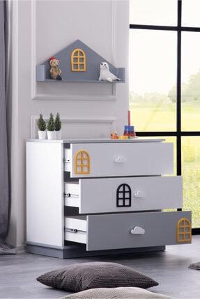Setay Dolce Montessori Raflı Şifonyer 1