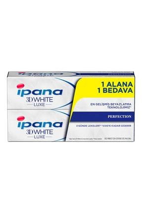 İpana 3 Boyutlu Beyazlık Luxe Diş Macunu Perfection Mükemmel 1