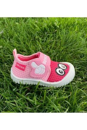 Gezer Kız Bebek Ortopedik Yumuşak Yazlık Panduf 1