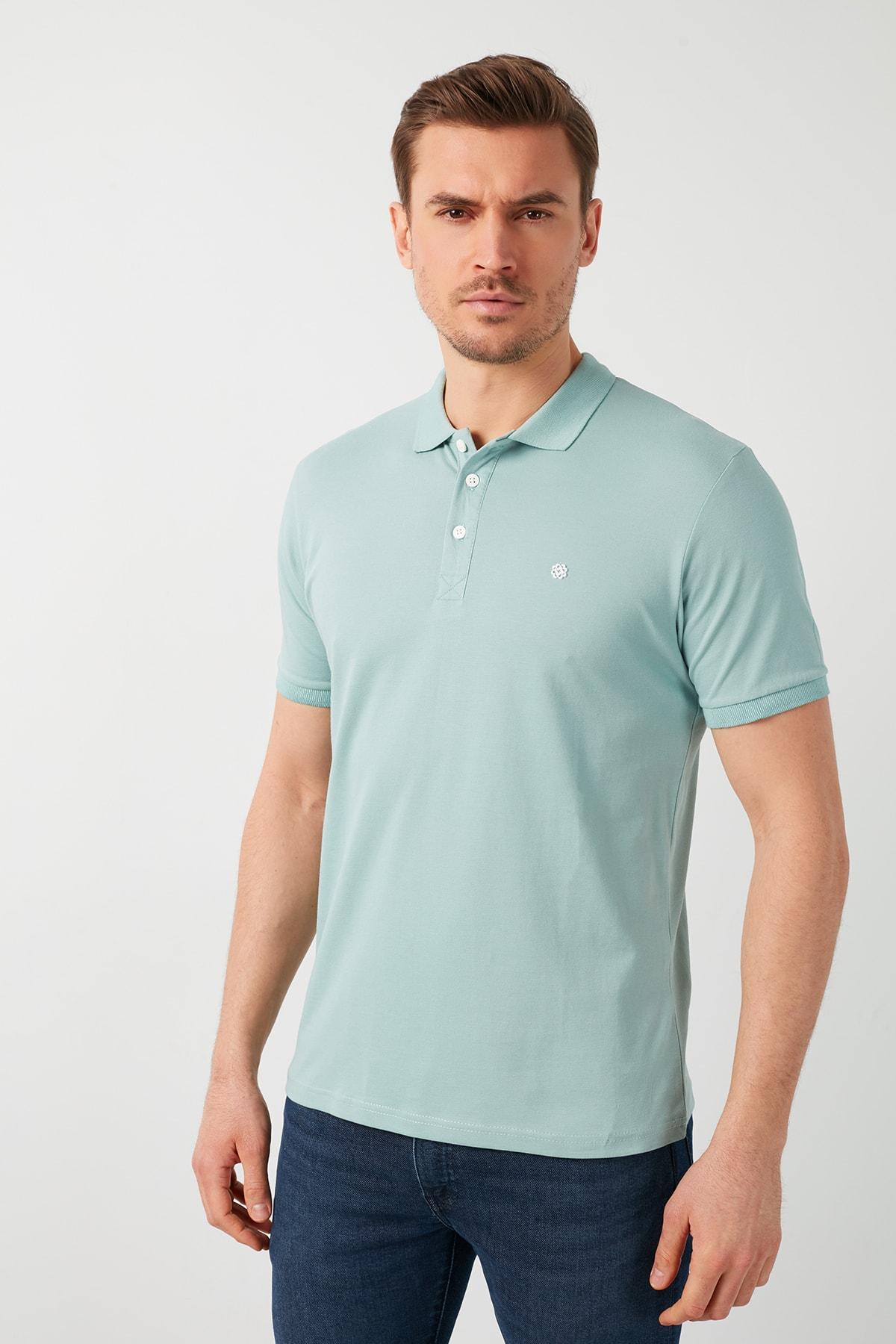 Buratti Pamuklu Düğmeli Polo T Shirt 0438101 2