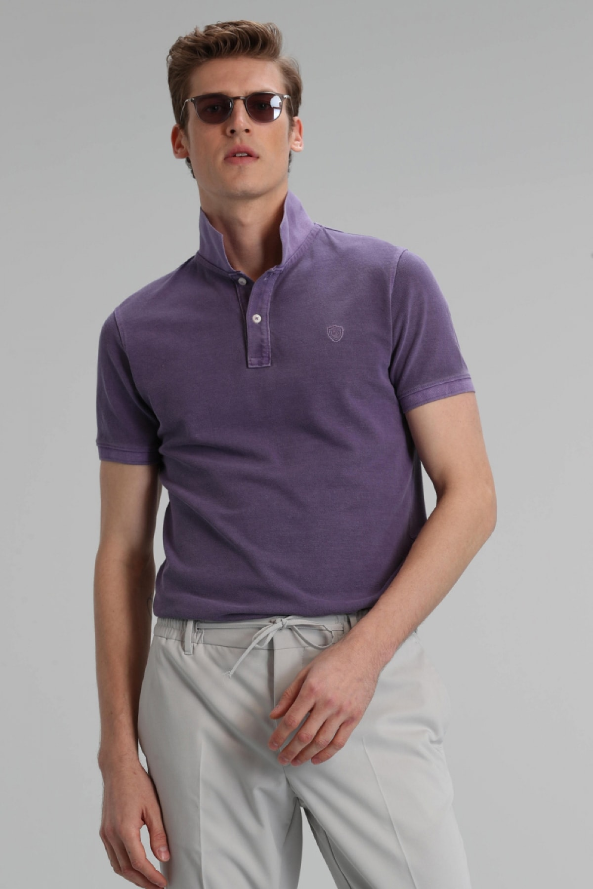 Lufian Erkek Spor Polo T- Shirt 0