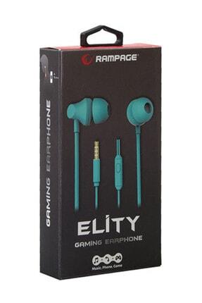 Snopy Rampage SN-R99 Elity Turkuaz Kulak İçi Mikrofonlu Kulaklık 2