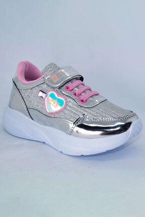 Çocuk Simli Spor Ayakkabı Simli Love Me
