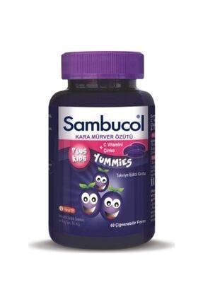 Sambucol Plus Kids Yummies 60 Çiğneme Tableti 0