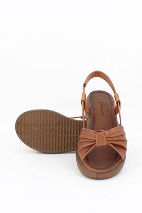 Deripabuc Hakiki Deri Taba Taba Kadın Deri Sandalet Dp-1841 1