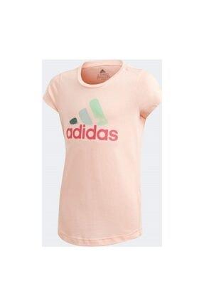 adidas Çocuk Pembe Antrenman Tişörtü 0