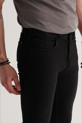 Avva Erkek Siyah Slim Fit Jean Pantolon A11y3701 2