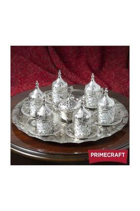 Primecraft Gümüş Kahve Fincan Takımı 6'lı 1