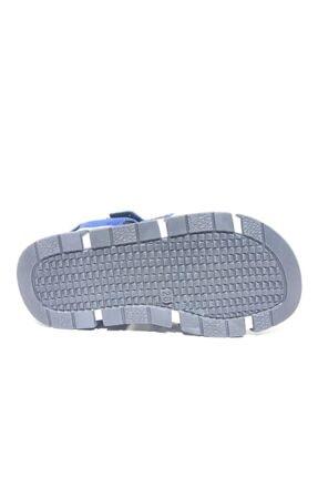 Toddler 2905-1 Ortopedik Hakiki Deri Erkek Çocuk Mavi Sandalet 4