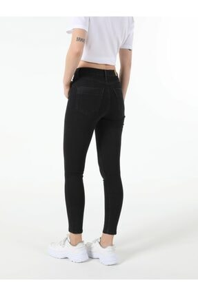 Colin's Kadın Edding Wash Super Slim Fit Yüksek Bel 76 Diana Denim Jean Pantolon 1