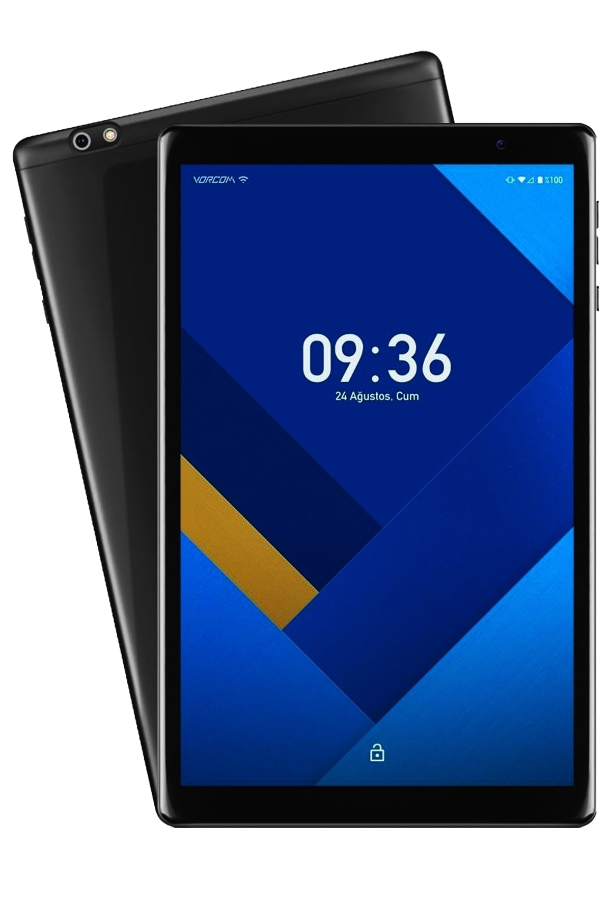 """S12 2 Gb 32 Gb 10.1"""" Ips Tablet Bilgisayar -siyah"""