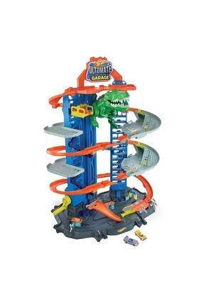 HOT WHEELS Gjl14 Hw Robotik T-rex Ultimate Garaj 1