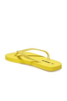 Polaris 400199.Z1FX Sarı Kadın Parmak Arası Terlik 101021130 2
