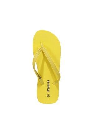 Polaris 400199.Z1FX Sarı Kadın Parmak Arası Terlik 101021130 3